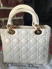 Authentic Christian Dior Medium Lady Dior Bag