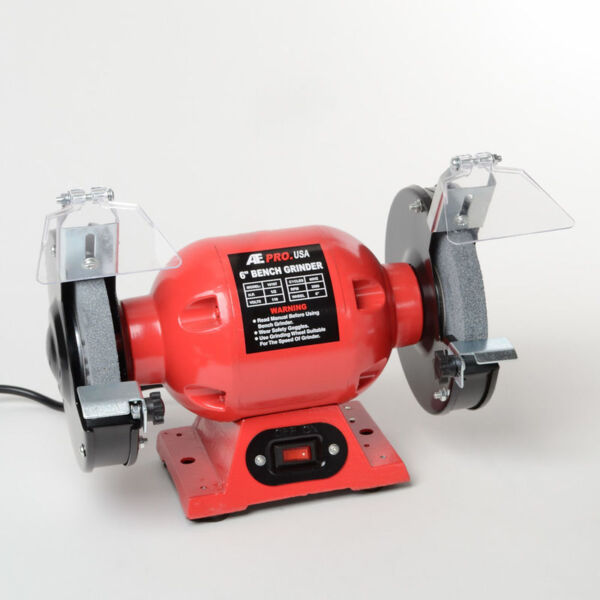 Ate Tools 6 Inch Electric Bench Top Grinder Power