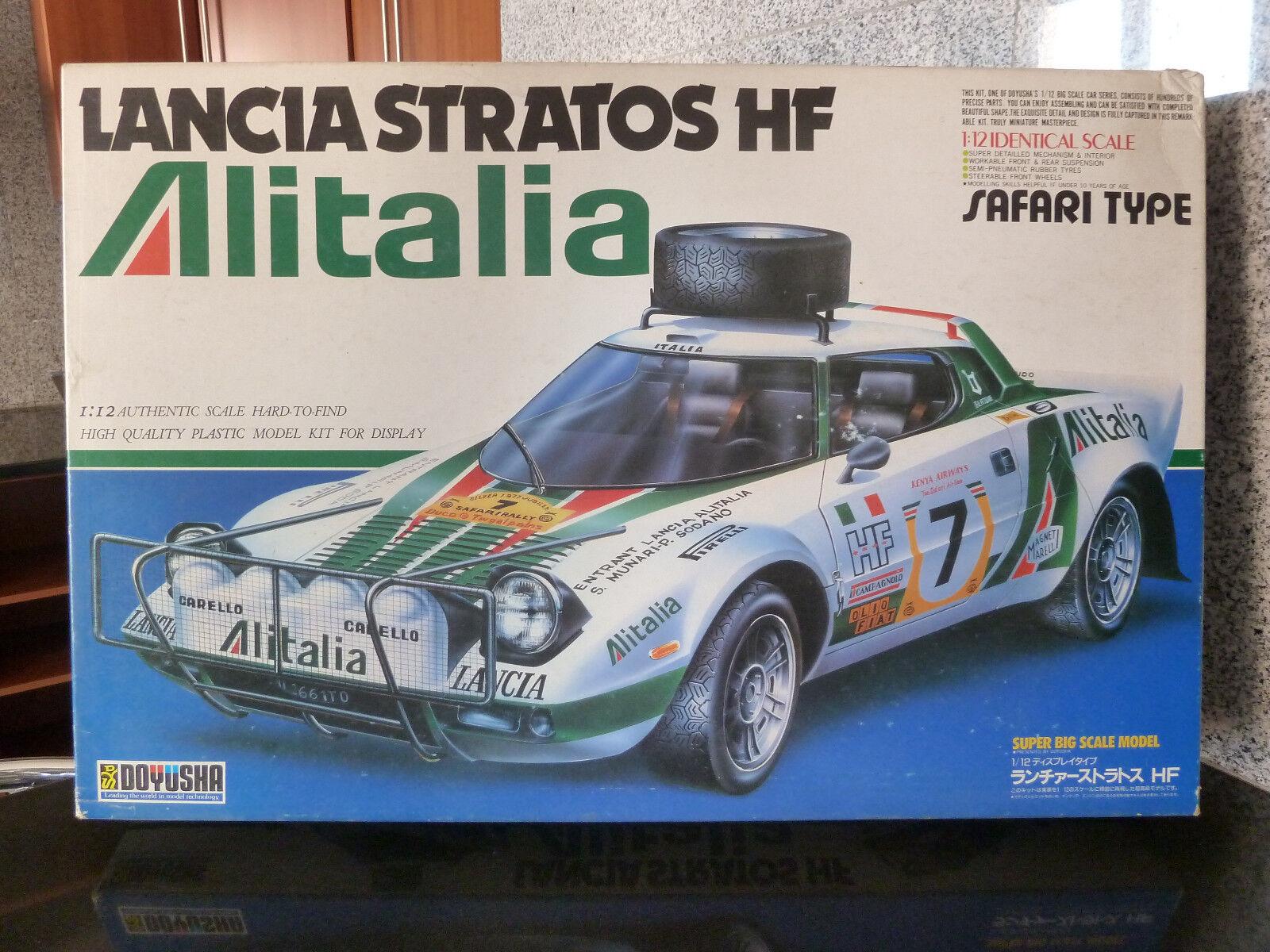 1 12 Doyusha, Lancia Stratos HF, Alitalia, Rally Safari
