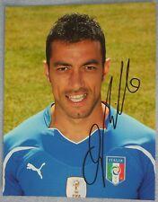 Fabio Quagliarella Signed Index Card (Juventus, Italy)