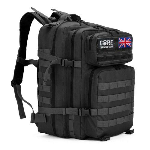 CORE Crossfit Tactical Backpack Black Gym Bag Athlete