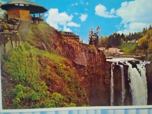 Post Card Snoqualmie Falls Lodge Vesta