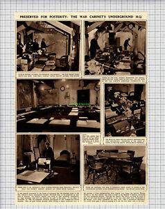 X339-The-War-Cabinet-Underground-HQ-Whitehall-1948-Cutting