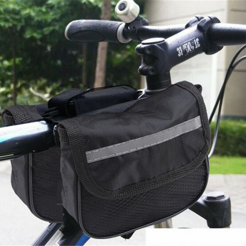 Bicycle Front Beam Frame Bag Cycling Bike Top Tube Pouch Holder Saddle Pannier6L