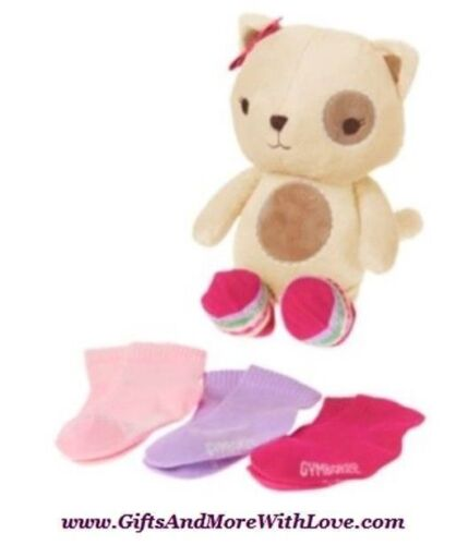 Gymboree NWT Brand New Baby PLUSH BEAR w// 4 PAIRS SOCKS GIFT 0 3 6 12 18 Months