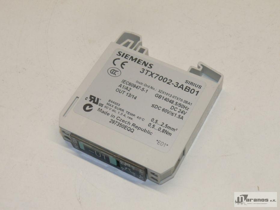 Siemens Sirius//3tx7002-3ab01//Relay Coupler f.222