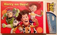 Toy Story 8 Count Party Invitations Woody Buzz Jessie