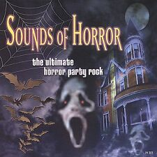 Sounds of Horror: The Ultimate Horror Party Rock by Dave Miller New Free US Ship