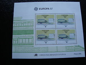 PORTUGAL-madeire-timbre-yvert-et-tellier-europa-bloc-n-8-n-stamp