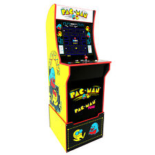 Arcade1U Pac-Man Arcade Cabinet with Custom Riser
