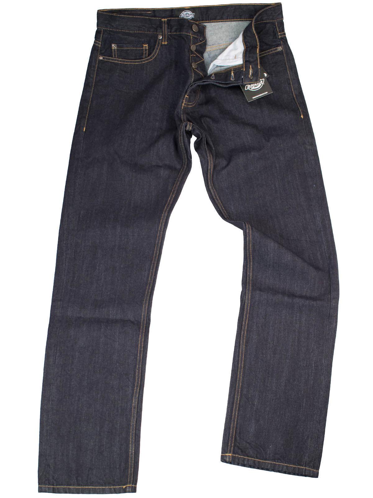 Dickies Jeans Michigan Michigan Michigan Rinsed 5 Pocket Denim Blaujeans Rockabilly  5007 5954b3