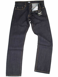 Dickies-Jeans-Michigan-Rinsed-5-Pocket-Denim-Bluejeans-Rockabilly-5007