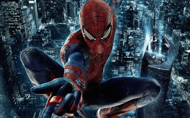 Spider-Man Poster High Quality Canvas Boy Home Art Print Kids Painting Unframed