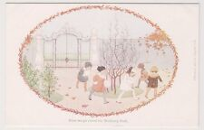 Artist postcard - Here We Go Round The Mulberry Bush by Willebeck Le Mair