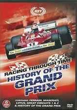 RACING THROUGH TIME HISTORY OF THE GRAND PRIX F1 - 6 DVD BOX SET  Formula 1 one