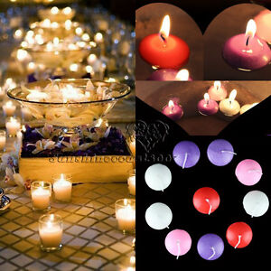 Http Www Ebay Com Itm Unscented Round Floating Candle Disc Floater Candles Wedding Party Home Decor 262303227758