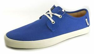 Vans Authentic Blu Navy Uomo Casual Lacci Tela Pompe
