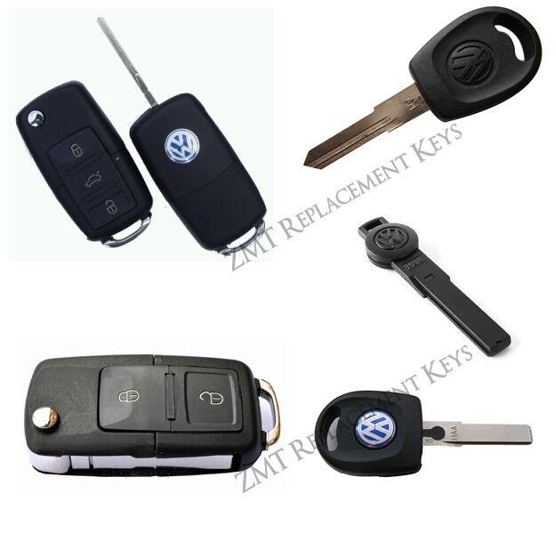 VW Keys - Remotes - Spare Keys - Transponder Key Coding....
