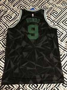 save off 8fe0e f7fe5 Details about adidas NBA Rajon Rondo Boston Celtics Jersey Limited Swingman  All Star XL
