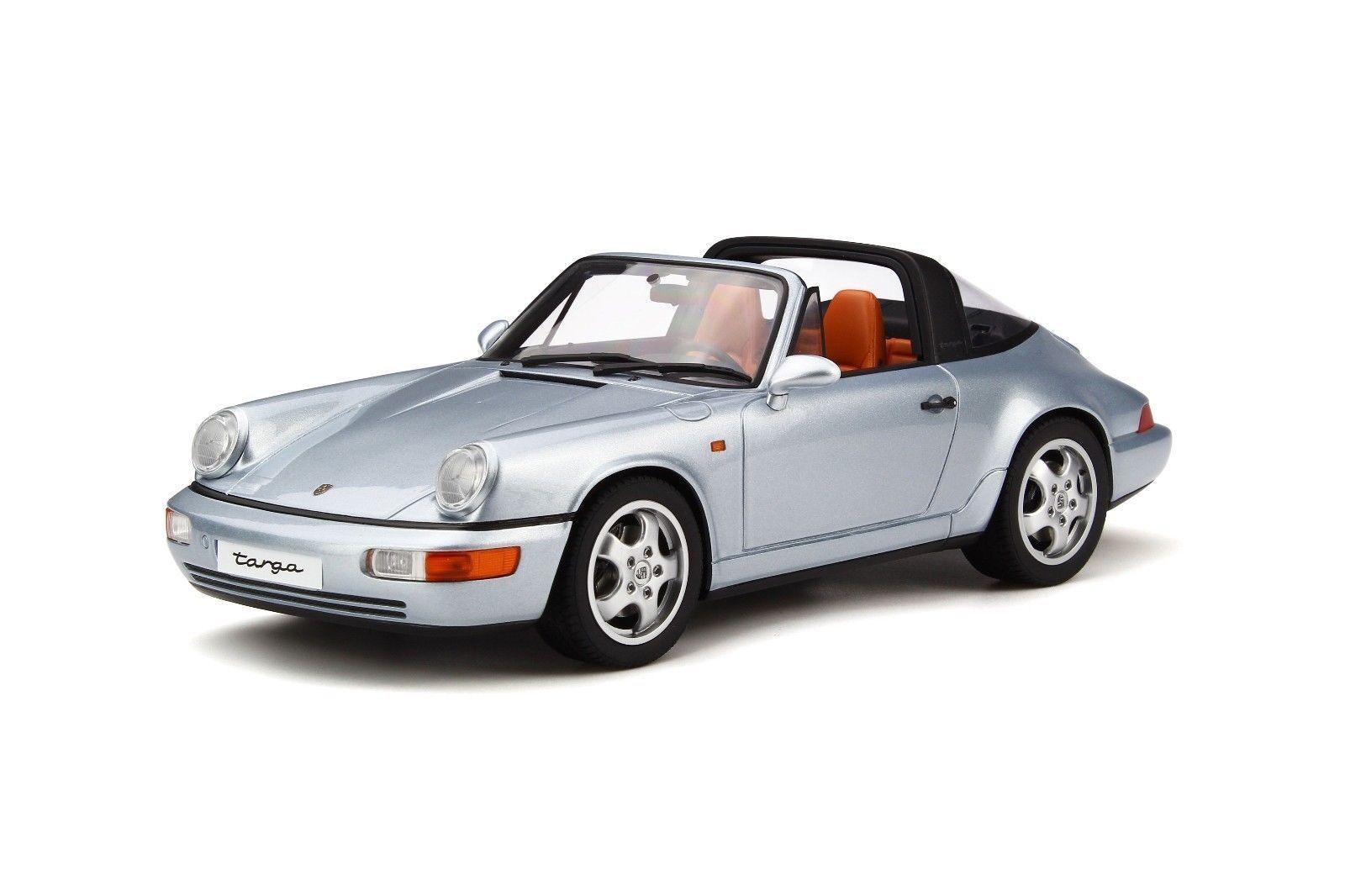1 18 GT Spirit-Porsche 911 (964) Targa Année 1991 Argent Lmtd .999st.  gt185