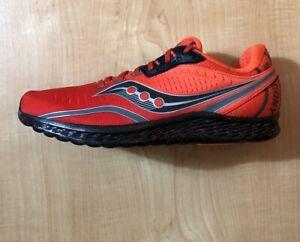 Saucony-x-Eddie-Kinvara-11-Running-Shoes-Orange-Black-S20551-5-Men-039-s-Sz-11-New