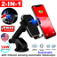 thumbnail 2 - Qi Wireless Car Charger Auto Clamping Mount Fast Charging Air Vent Phone Holder