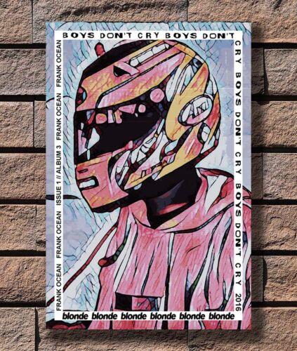B-187 Frank Ocean Blond Custom Rap Music Singer Star Hip Hop 27x40 Fabric Poster
