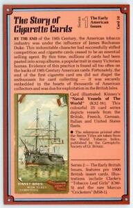 LOT-10-MODERN-POSTCARDS-THE-STORY-OF-CIGARETTE-CARDS-EMWELL-COLLECTORS-SERIES