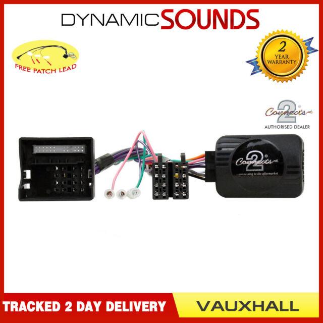 DS-VX002 Steering Wheel Stalk Adaptor Lead For Vauxhall Antara,Astra,Corsa CD30