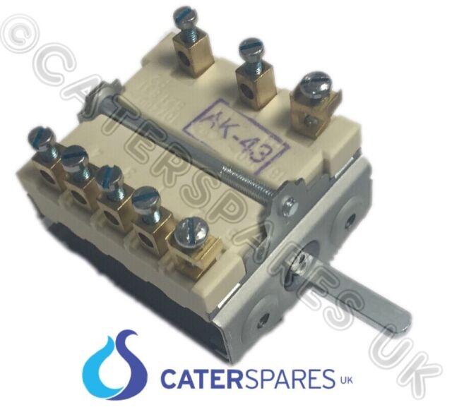 Falcon 6 posición interruptor Selector Rotatorio 731880160 HERVIR SUPERIOR