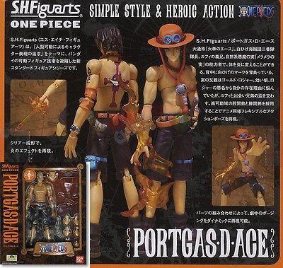 Ace Action Figure BRAND NEW Bandai One Piece SH SHF S.H.Figuarts Portgas D