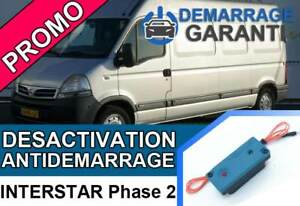 Cle-de-desactivation-d-039-anti-demarrage-Nissan-INTERSTAR-PHASE-2
