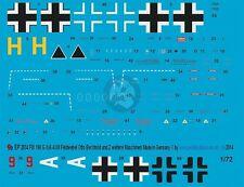 Peddinghaus 1/72 Fw 190 A-4/U8 Yellow H Markings Otto Bechtold 7./SKG 10 2834