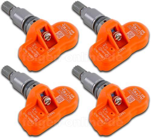 RDK Sensor Reifendrucksensor 4 Stück VENTIL GRAU TITAN BMW 7er F01//F02//F03//F04