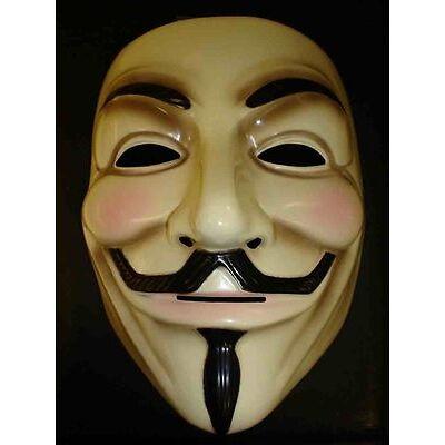 V für Vendetta Maske Guy Fawkes Anonymous Halloween Masken Kostüm
