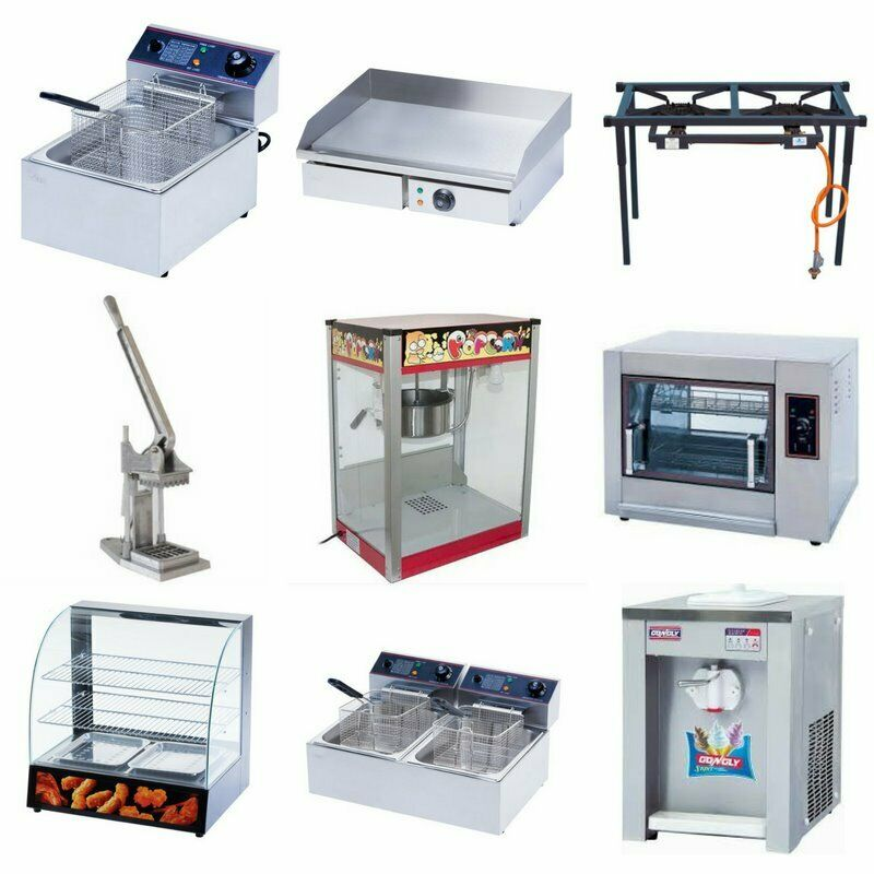 Fryers, Grillers, Warmers, Cutters, Mixers, Mincers, etc