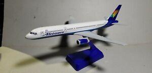 FLIGHT-MINATURE-AIRTOURS-757-200-1-200-SCALE-PLASTIC-SNAPFIT-MODEL