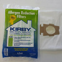 Kirby Vacuum Cleaner White Cloth Hepa Bags F Style G4 G5 G6 G7 G7d Sentria Ii