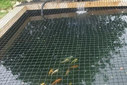 CHILD SAFETY POND NETTING-VERY STRONG-ROTPROOF 3M X 2M pits hot tub