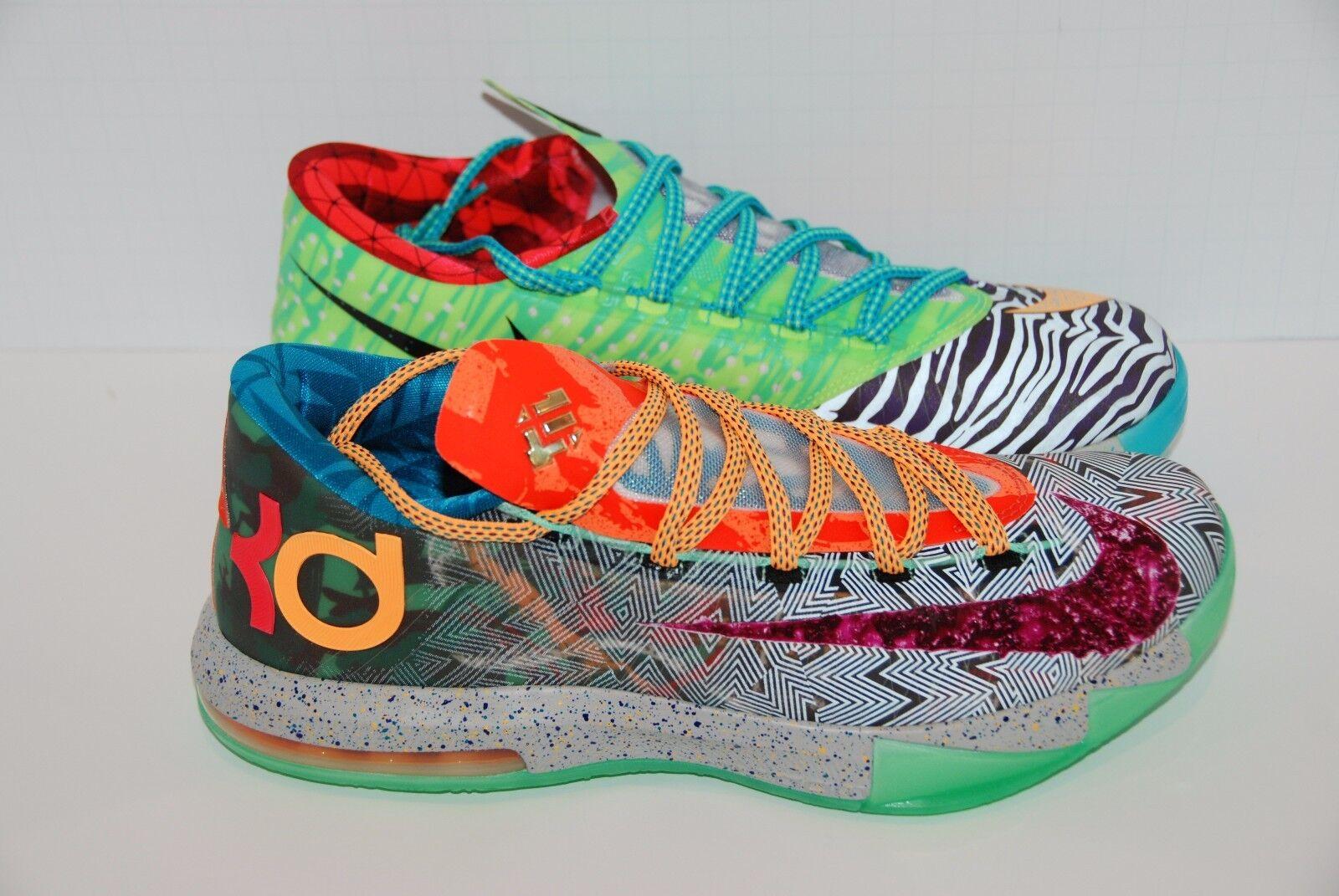Nike KD VI 6 Premium WHAT THE KD size 8.5 US BRAND NEW