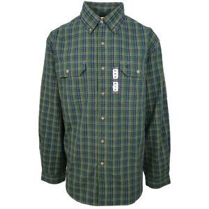Carhartt-Men-039-s-S13-Carnival-Green-Plaid-L-S-Woven-Shirt-Size-4XL-Retail-45