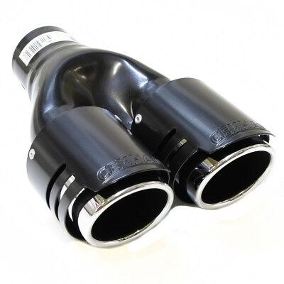 Exhaust Tip Trim Pipe Tail Sport Muffler For BMW Series 1 3 5 E36 E39 E46 E90