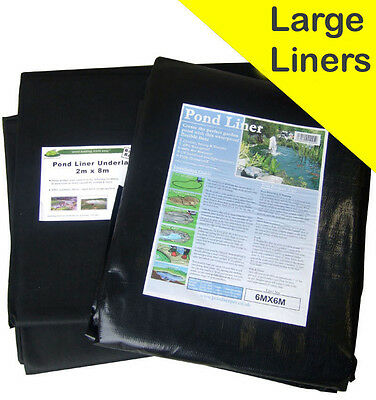 Pond Liner Special Offer 40yr Life with FREE Underlay. Next Day Delivery.