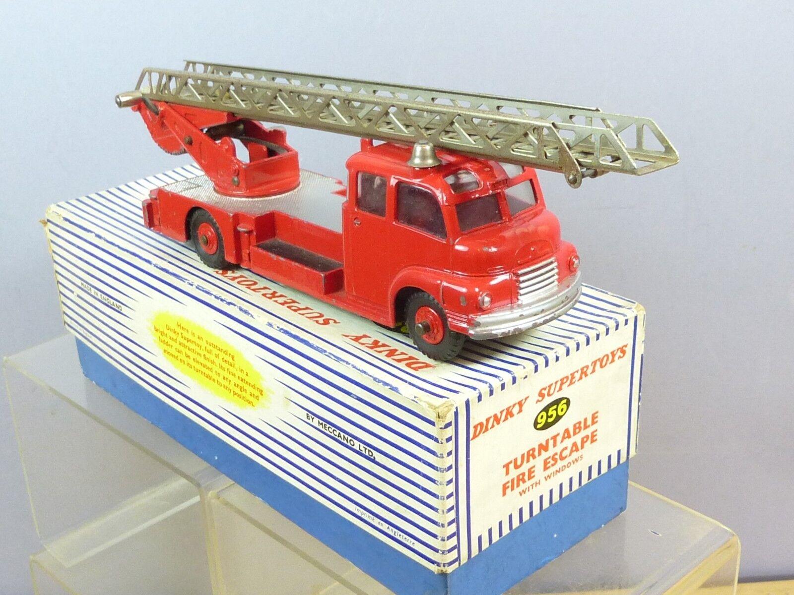 Vintage DINKY SUPERTOYS Model No. 956  pour platine Fire Engine avec Windows VN En parfait état, dans sa boîte  chaud