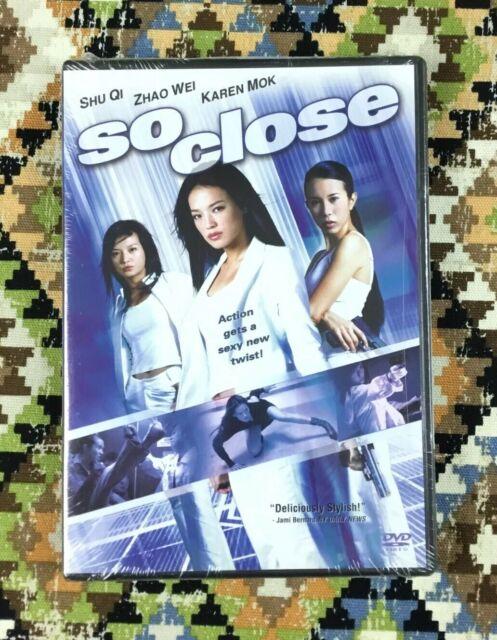 So Close modern kung fu action movie DVD Shu Qi, Vicky