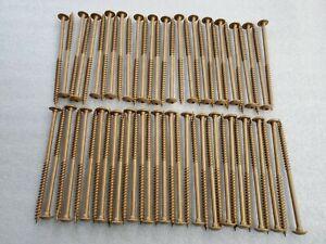 """Power Pro Construction Lag Screw Bronze Ceramic 30 per pack 6/"""" x 5//16/"""""""
