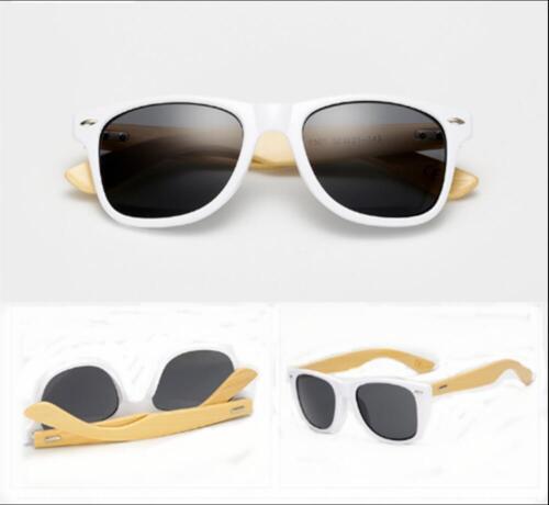 Mens Womens Fashion Bamboo Sunglasses Wooden Wood Retro Vintage Summer Glasses