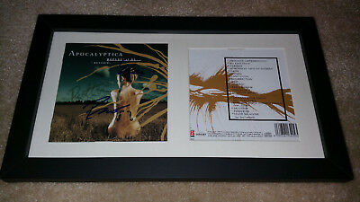 Cds & Booklets Fashion Style Apocalyptica Reflections Band Signed Autograph Framed Display #e Autographs-original