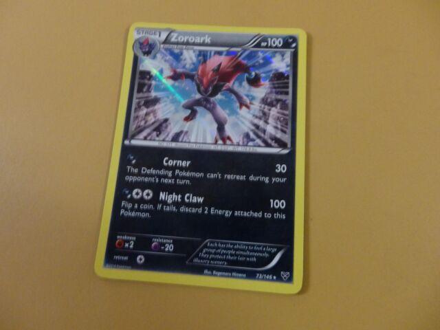 Zoroark Holo Rare Pokemon XY Base 73/146