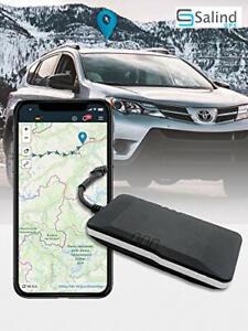 Salind GPS Localizzatore GPS per auto, moto, veicoli e camion con collegamento